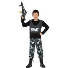 Disfraz de SWAT Infantil #Niño #Policía #SWAT
