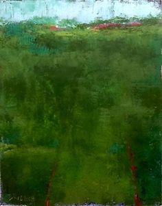 image by Debbi Kleisch Oil and Cold Wax ~ 14 x 11