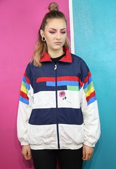 Wine tartan lined harrington bomber jacket | ASOS Marketplace ...