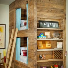 Bunk Beds. Great for boys room!