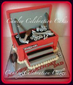 SNAP -ON TOOL BOX CAKE @ CAMLEY CELEBRATION CAKES