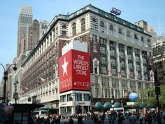 Macys  NYC. This place is awesome