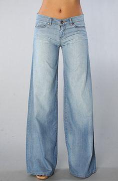 The Lightweight Wide Leg Jean by Blank Denim