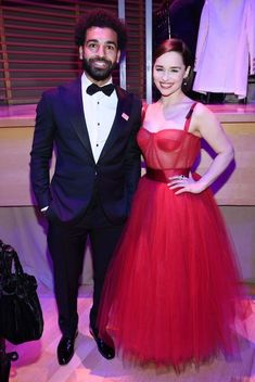 Emilia Clarke Mohamed Salah Photos - Mohamed Salah and Emilia Clarke attend the TIME 100 Gala 2019 Dinner at Jazz at Lincoln Center on April 2019 in New York City. Best Football Team, Liverpool Football Club, Liverpool Fc, Egyptian Kings And Queens, The Mother Of Dragons, Salah Liverpool, Jazz At Lincoln Center, Arab Celebrities, Mo Salah
