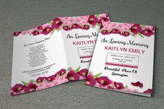 Funeral Program Template  Memorial Program by TemplateStock
