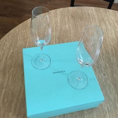 Tiffany Co Champagne Flutes