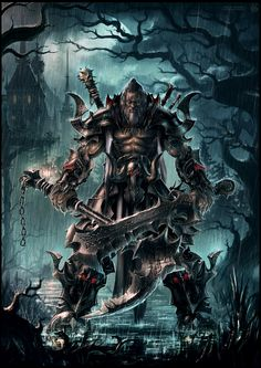 Barbarian Reaper of Demon Souls by draken4o on deviantART