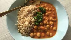 Kikert-karbonader - Veganeren Shawarma, Meatless Monday, Black Eyed Peas, Naan, Chana Masala, Nom Nom, Curry, Food And Drink, Vegetarian