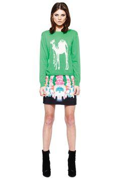 Camel sweater