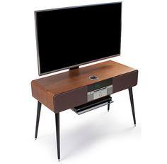 Midcentury-style Ruark Audio R7 Radiogram gets a TV add-on