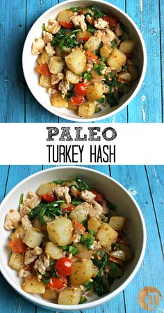 Paleo Turkey Hash - perfect for breakfast, lunch and even dinner!