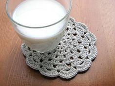 Crochet Coaster - Crochet Posavasos