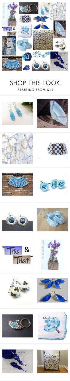 Sunday Blues by belladonnasjoy on Polyvore featuring Shamballa Jewels, Rustico, modern, rustic and vintage
