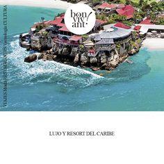 Ubicado en el corazón de San Bartolomé, en una de las zonas más bellas, el hotel Eden Rock. Realizado por Creamost.