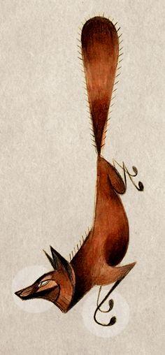 Fox by Skia.deviantart.com on @DeviantArt