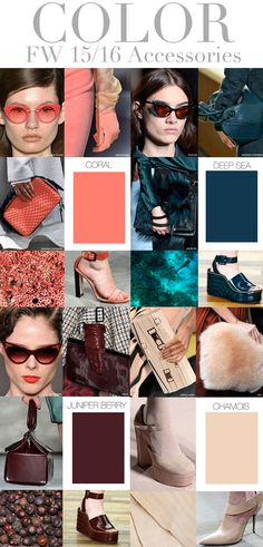 Trend Council: COLOR - FW 15/16 Accessories