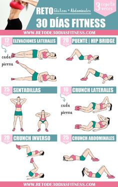 Fitness Workout For Beginners – Burn Fat & Build Muscle Anywhere 30 Day Fitness, Fitness Workout For Women, Fitness Motivation, Fitness Plan, 30 Day Ab Workout, Gym Workouts, At Home Workouts, Sixpack Abs Workout, Fitness Inspiration