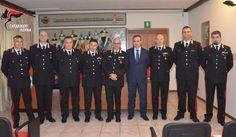 Isernia conferite onorificenze a sette militari del Comando Provinciale Carabinieri