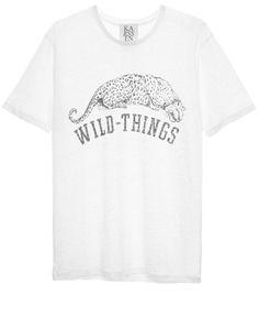 WILD THINGS LOOSE FIT TEE | Zoe Karssen