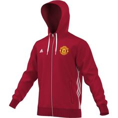 f73528526 adidas Men's Manchester United Munich Zippered Hoody - Goal Kick Soccer - 1  Manchester United Hoodie