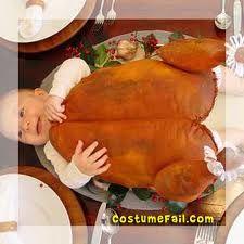 Cute baby in turkey costume aaaahhhhh