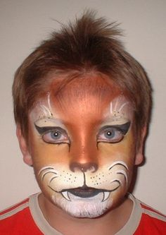 lion makeup | About Face - face painting, make-up and body art by Zoë Thornbury ...