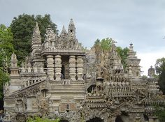 Palais Idéal du Facteur Cheval — Hauterives, France | 21 Of The Strangest And Most Unique Buildings From Around The World