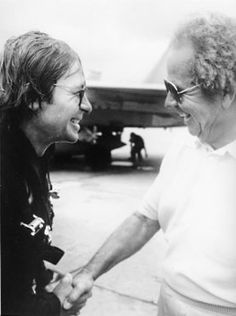 John Denver and his Dad Henry.