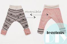 iloveyoumydear: reversible leggings DIY.