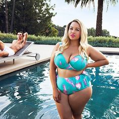 09a94422a8 You Need To See GabiFresh s Sexy New Fatkini Line For Women Sizes 12 – 24  Cute