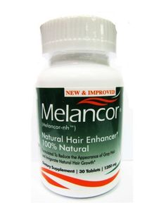 New Improved Melancor NH Hair Color Restorer & Rejuvenator - 30 Capsules by Melancor. $56.35. 30 Capsules per bottle for one month supply. Melancor does not contain animal products. Reduce the appearance of gray hair in men and women. Invigorate natural hair growth. Revitalize natural hair color in men and women. Melancor and its patent-protected core compound, Melancor-NH is the result of years of research and development. Melancor is an essentially a blend of thousan...