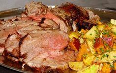 Баранья нога запеченная в рукаве - вкусное мясное блюдо для праздничного стола!