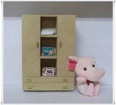 Miniatura feita em mdf, utilizada em decoração de porta maternidade ou casa de boneca R$ 4,51