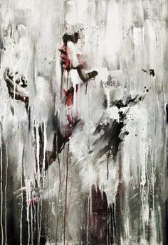 Креативные кляксы и творческие каракули в живописи Агнесс Сесиль (Agness Cecile)
