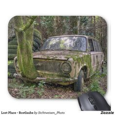 Lost Place - Rostlaube Mousepads #lostplace #rustycar #car