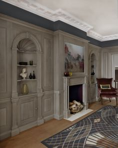Enhance any space in your home with Smallbone's bespoke Millwork panelling
