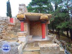Knossos Kreta Griekenland Santorini, Minoan, Crete Greece, Olympus Digital Camera, Restoration, Island, Outdoor Decor, Islands, Santorini Caldera