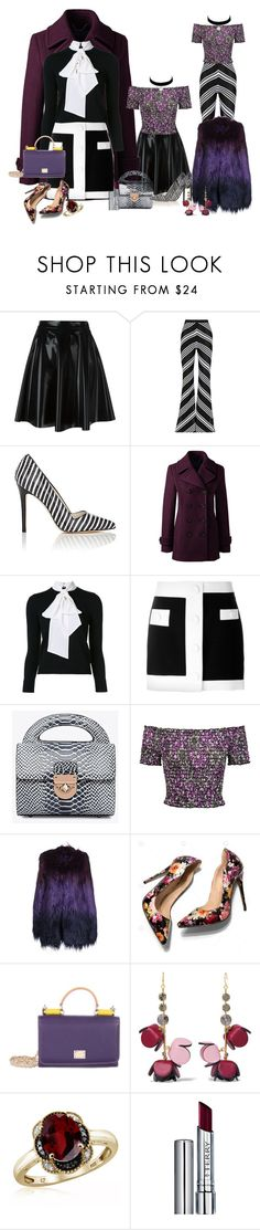 """bsejc80@gmail.com"" by conley-esperanzaj1957 on Polyvore featuring MSGM, Balmain, Alice + Olivia, Lands' End, Sans Souci, Oui, Odile!, Dolce&Gabbana, Marni, Jewelonfire and By Terry"