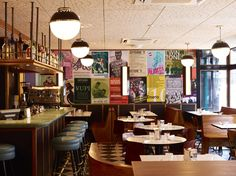 Stark but stylish contrasts for London's hottest new eatery...  http://www.we-heart.com/2012/06/11/la-bodega-negra-soho/