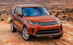 Download wallpapers Land Rover Discovery Sport, 4k, 2017 cars, desert, offroad, Land Rover