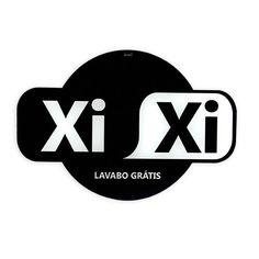 Placa de Banheiro XiXi  - foto principal 1
