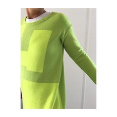 KnitKnit | SS 17 | Bright Green hoodie cotton By KNIT KNIT