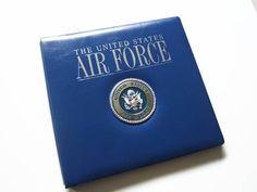 Air Force Scrapbook Album  Air Force Photo Album  Military
