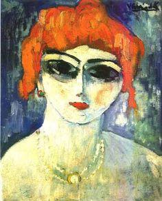"""Kees Van Dongen - """"Ritratto di Donna""""  1905"""