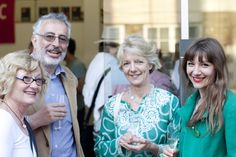Left – Right: John Stares (Launchpad, Prize Sponsors of the Douglas Adams Animation Competition), Catriona Stares (Director, Guernsey Literary Festival), Penny Shapland (The Reading Agency) and Nadine Stares (IDEO