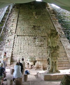 The Hieroglyphic Stairway of Copán, Honduras