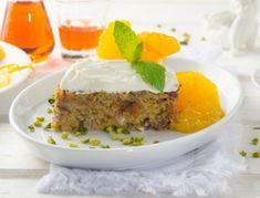 Getränkter+Dinkel-Grießkuchen+mit+Rum-Orangen