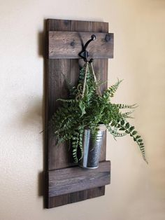 Hanging Wall Planter Rustic Wall Decor Indoor Wooden Planter Rustic Home Decor Farmhouse Decor Wall Hangings Galvanized Wall Decor Farmhouse Decor Decor Farmhouse Galvanized Hanging Hangings Home indoor Planter Rustic Wall Wooden Farmhouse Wall Decor, Rustic Wall Decor, Diy Wall Decor, Shutter Wall Decor, Farmhouse Shutters, Rustic Wall Sconces, Rustic Elegance Decor, Farmhouse Shelving, Candle Wall Decor