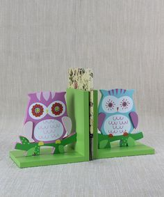 Take a look at this Young's Owl Bookend Set on zulily today!