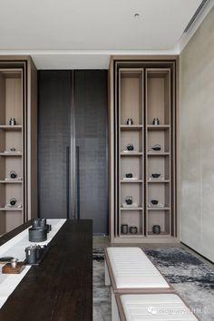 Shelf Design, Cabinet Design, Wall Design, House Design, Chinese Interior, Modern Interior, Interior Architecture, Cabinet Furniture, Furniture Design